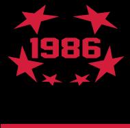 Jahrgang 1980 Geburtstagsshirt: 1986