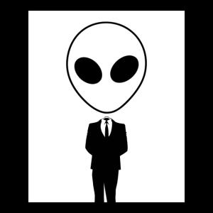 Alien Business Man