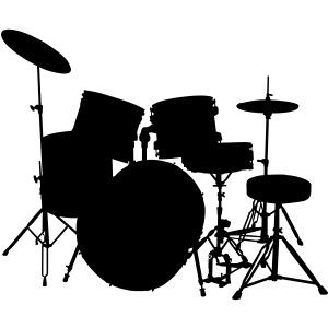music drumset drum
