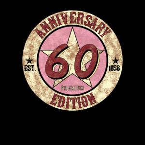 60ter Geburtstag Geschenk 1958 Vintage Jubiläum