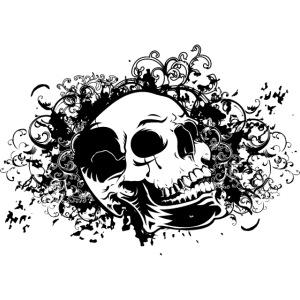 ornamental skull w