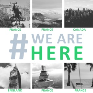 #we are here