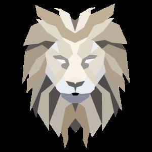 Die mächtige Mähne eines Löwen
