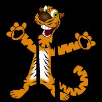 Knuffiger Tiger