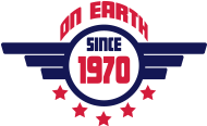 Jahrgang 1970 Geburtstagsshirt: 1970 on earth