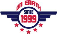 Jahrgang 1990 Geburtstagsshirt: 1999 on earth