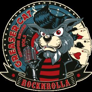 BÖSER KATER- Lustige RocknRoll Katze Geschenk