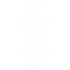 Segel setzen Segeln Spruch Wind Motivation