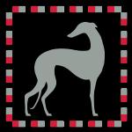 Greyhound Mosaïc