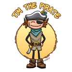 Tim the pirate