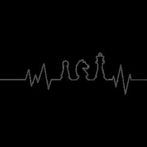 Schach Herzschlag 1
