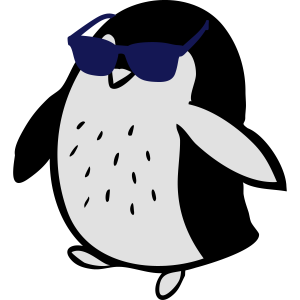 Cooler Pinguin