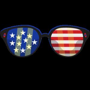 Amerika Brille