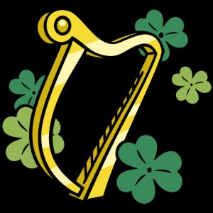 Harfe und Kleeblätter