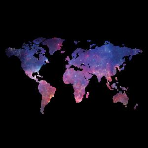 Welt bei Nacht