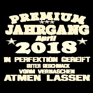 2018 Perfektion gereift