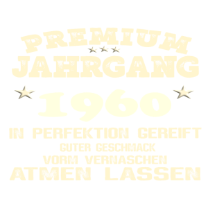 1960 Perfektion gereift