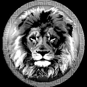 Mondschein-Lion-Abzeichen