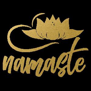 Namaste Yoga Lotusblüte Geist Joga Bewusstsein