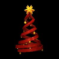 Weihnachtsbaum und roten Design