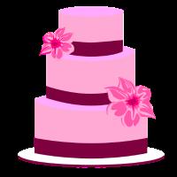 Torte Hochzeit Hochzeitstorte Blumen Geschenkidee