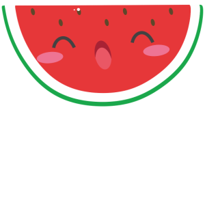 Wassermelone Melone Obst Frucht Fresh Geschenkidee