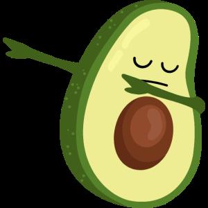 Avocado Dabbing - Dab Dance - Dab Tanz - Geschenk