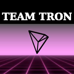 Team Tron im Retro Design - Kryptowährungen