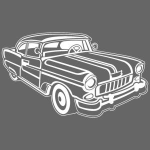 Chevy Cadilac / Muscle Car 02_weiß