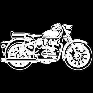 Motorrad / Motorcycle 02_weiß