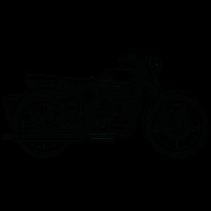Motorrad / Motorcycle 02_schwarz