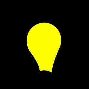 Glühbirne Licht an Idee Geschenk Idee
