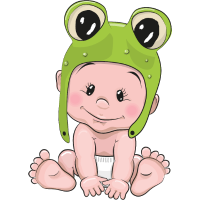 Frosch Baby