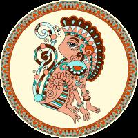 Affe-Emblem