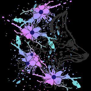Fox-aquarell