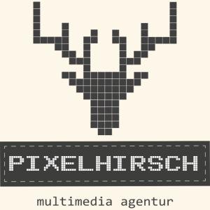 PIXELHIRSCH - grau