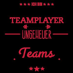 Ungeheuer fantastisches Team - Teamplayer