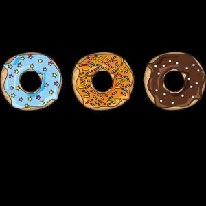 Donut Süß Essen Lecker Kuchen Streusel Geschenk