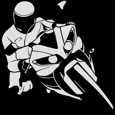 Motorradfahrer -  - freedesigns17,Transport,Symbole,Speed,Shape,Rennmotorrad,Raser,Radrennen,Racing,Motorsport,Motorradfahrer,Motorrad,Motor race,Motor,Logo,Graphic art,Chopper,Autobahn