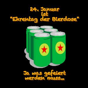 Ehrentag der Bierdose