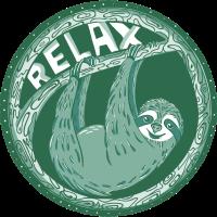 Relax -- Grünes Faultier