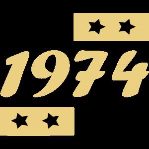 seit 1974 dabei / Jahrgang 1974 / 74