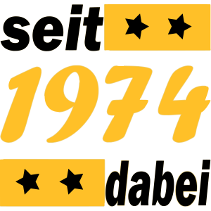 Jahrgang 1974 / seit 1974 dabei