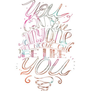 Niemand kann du sein