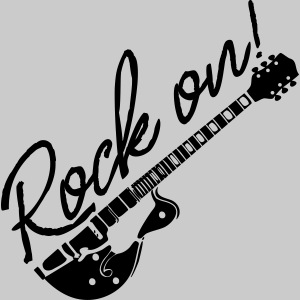 Rock On mit Gitarre