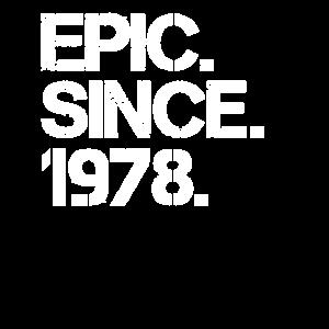 Epic. Since. 1978.