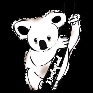 koala Bär Koalafied niedlich cool reise save Austr