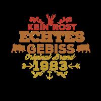Used Retro Vintage Shirt Geburtstag Jahrgang 1983