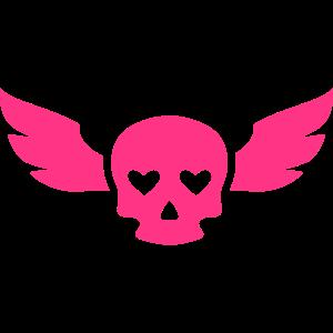 Schädel heart2