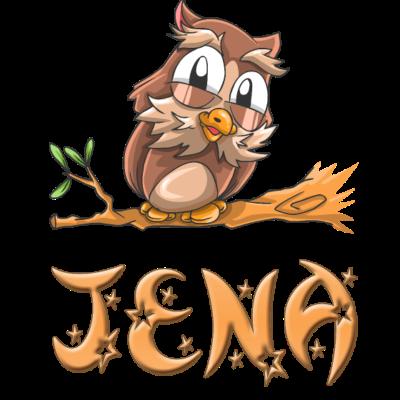 Eule Jena - Jena Eulen Design für Jena. - Jena süss,Jena Geschenke,Jena Geschenk,Jena Geburtstagsgeschenk,Jena Geburtstag,Jena Geburt,Jena Eulen,Jena Eule,Jena